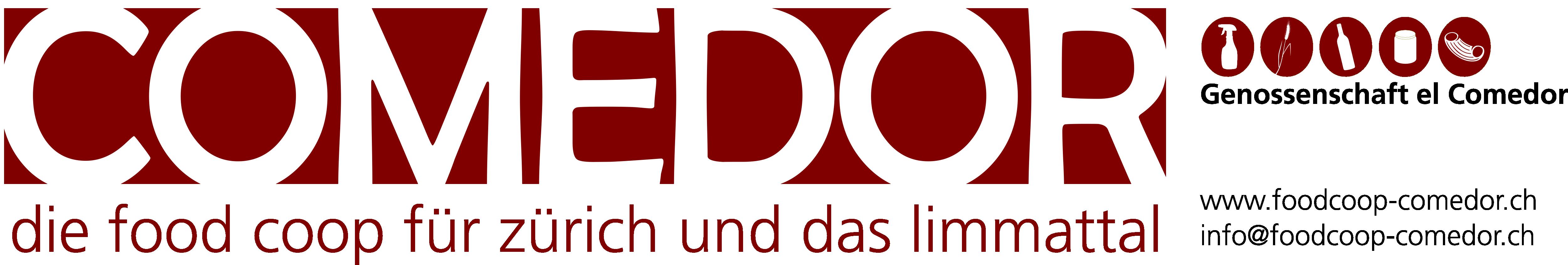 Comedor die food coop f r z rich und das limmattal for Comedor logo